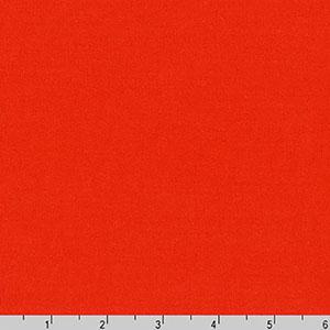 Arietta Ponte De Roma Solid Knit Flame Orange Fabric