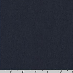 Arietta Ponte De Roma Solid Knit Navy Blue Fabric