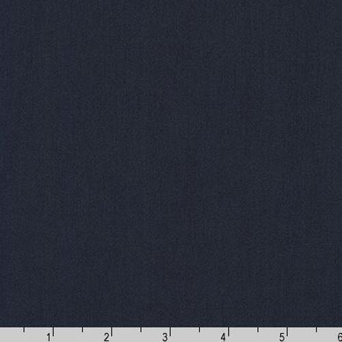 Arietta Ponte De Roma Solid Knit Navy Blue Fabric