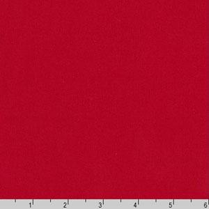 Arietta Ponte De Roma Solid Knit Red Fabric