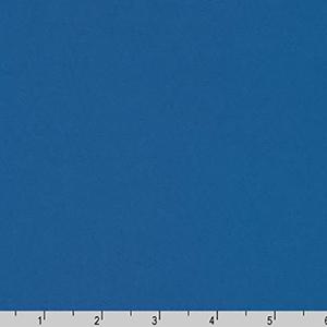 Superluxe Poplin Solid Blue Fabric