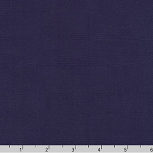 Perfecto Poplin Solid Midnight Blue Fabric