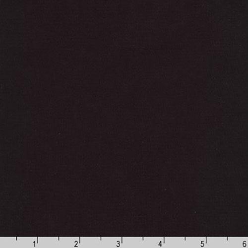 Premier Stretch Poplin Solid Black Fabric