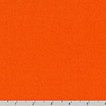 Superluxe Poplin Solid Orange Fabric