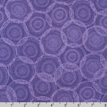 Quill Interlock Knit Grappa Purple Fabric
