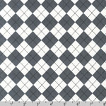 Remix Argyle  Diamond Gray Fabric