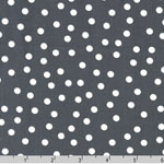 Remix Scattered Dot Gray Fabric