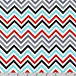 Remix Chevrons Zig Zag Celebration Fabric