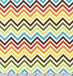 Remix Chevrons Zig Zag Bermuda Fabric