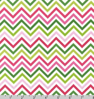 Remix Chevrons Zig Zag Garden Fabric