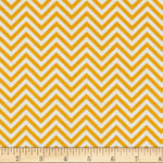 Remix Chevron Sunshine Yellow Fabric