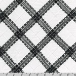 Rick Rack and Ribbons Deluxe Diamond Trim Fabric