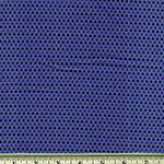 Saville Shirt Cotton Thread Dyed Navy Blue Dot Fabric