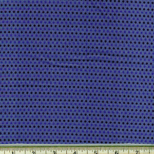 Saville Shirt Cotton Thread Dyed Navy Blue Dot Fabric