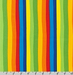Celebrate Seuss! Rainbow Stripes Multi Fabric