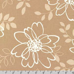 Sevenberry Canvas Cotton Flax Prints Fabric Natural