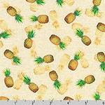 Tropical Gardens Aloha Iki Pineapple Fabric