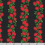 Tropical Gardens Aloha Iki Ohia Lehua Red Fabric