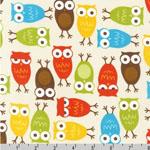 Urban Zoologie Owl Bermuda Fabric