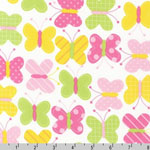 Urban Zoologie Butterfly Spring Fabric