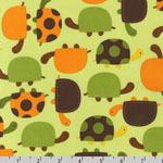 Urban Zoologie Turtles Bermuda Fabric
