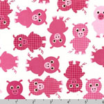 Urban Zoologie Pgs Pink Fabric