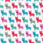 Urban Zoologie Mini Dog Sorbet Fabric