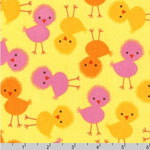 Urban Zoologie Chicks Spring Fabric