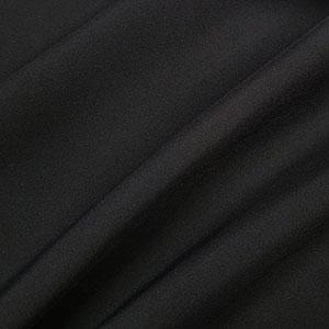 Zanzibar with ViralOff Black Solid Polyester Fabric