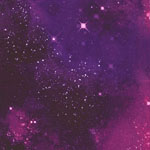 Galaxy Space Jersey Knit Stardust Purple Fabric