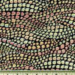 Snaileed It snail pattern fabric black