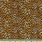Tiny Leopard Fabric