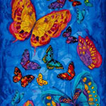 Monterey Butterfly Panel Fabric