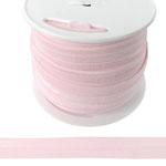 Fold Over Elastic in Baby Pink-Ten (10) Yards