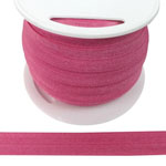 Fold Over Elastic in Hot Pink-Ten (10) Yards