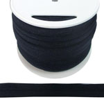 Fold Over Elastic in Navy Blue-Ten (10) Yards