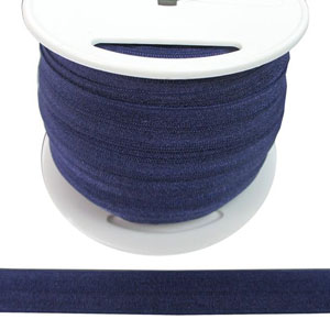 Fold Over Elastic in Purple-Ten (10) Yards