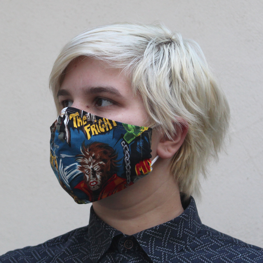 Contoured Monsters Mask
