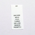 Machine Wash Cold Care Tags