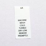 Machine Wash Cold Care Tags