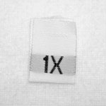 1X Size Tags