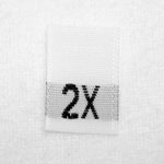 2X Size Tags