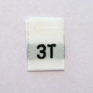 3T Size Tags