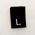 Large Size Tags-Black