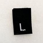 Large Size Tags-Black