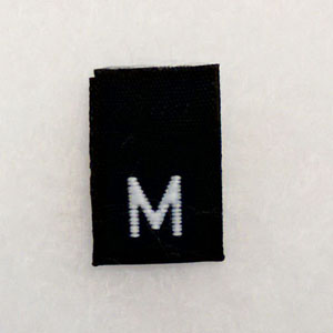 Medium Size Tags-Black