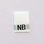 New Born Size Tags