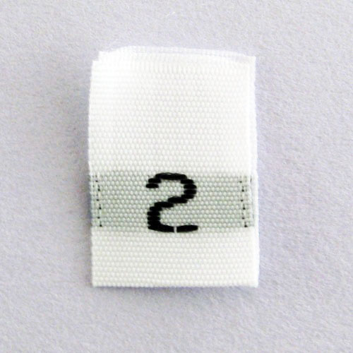 Size 2 Size Tags