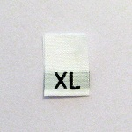Extra Large Size Tags