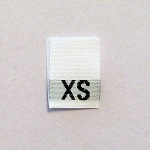 Extra Small Size Tags